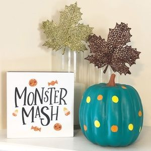 Other - Fall Halloween Home Décor 2 Piece Bundle